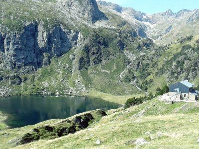 Lac d'Espingo sur le GR10