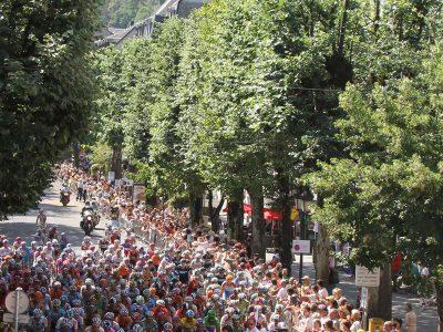 Tour de France sur les allées d'Etigny