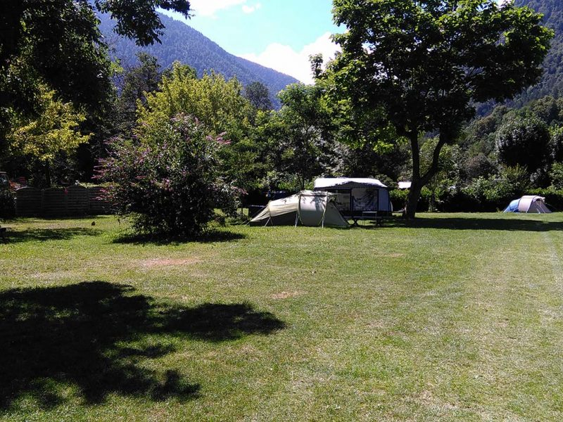 Espace libre au camping