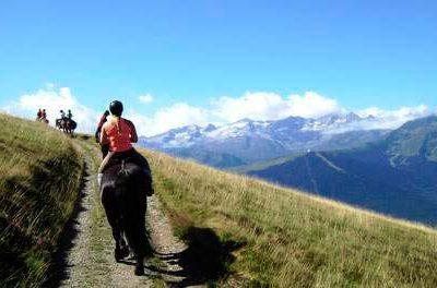 Equitation dans les Pyrénées