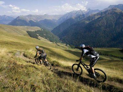 VTT à Luchon dans les Pyrénées